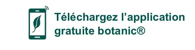 Téléchargez l'application gratuite botanic